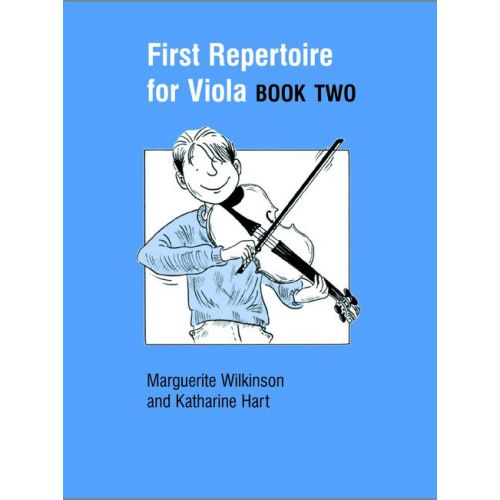 FABER MUSIC WILKINSON M / HART K - FIRST REPERTOIRE FOR VIOLA BOOK 2 - VIOLA AND PIANO