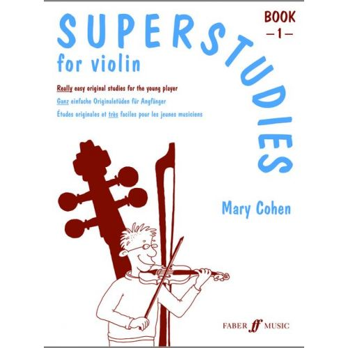 FABER MUSIC COHEN MARY - SUPERSTUDIES VOL.1 - VIOLIN