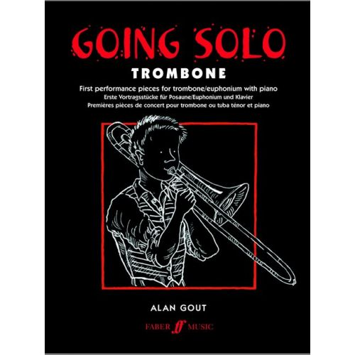 FABER MUSIC GOUT ALAN - GOING SOLO - TROMBONE AND PIANO