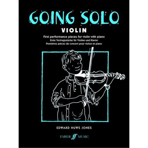 FABER MUSIC JONES ROBERT W. - GOING SOLO - VIOLIN