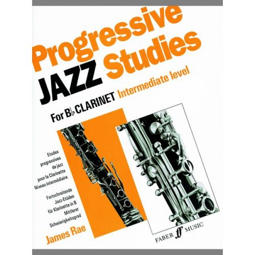 FABER MUSIC RAE JAMES - PROGRESSIVE JAZZ STUDIES 2 - CLARINET