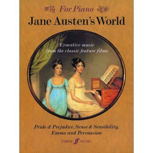 FABER MUSIC HARRIS RICHARD - JANE AUSTEN'S WORLD (PIANO) - SHOWS/FILM/TV