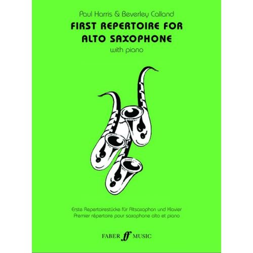 FABER MUSIC FIRST REPERTOIRE - SAXOPHONE ET PIANO