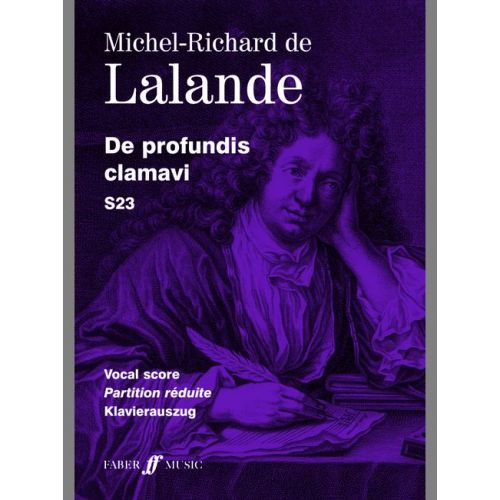 FABER MUSIC LALANDE MICHEL RICHARD DE - DE PROFUNDIS CLAMAVI - VOCAL SCORE (PER 10 MINIMUM)