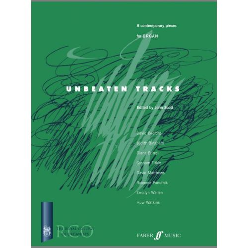 FABER MUSIC SCOTT JOHN - UNBEATEN TRACKS - ORGAN
