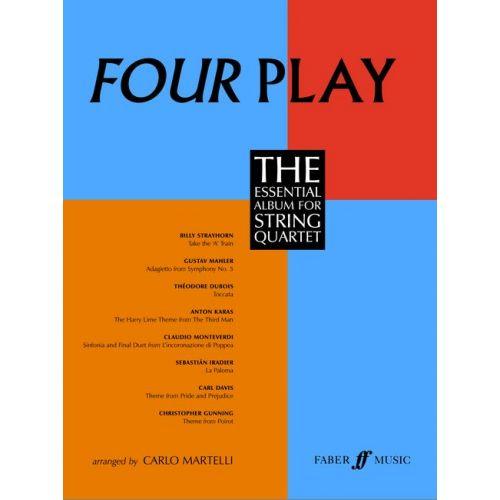 FABER MUSIC MARTELLI CARLO - FOUR PLAY - STRING QUARTET