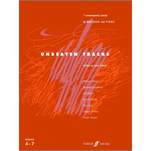 FABER MUSIC ORFORD JOHN - UNBEATEN TRACKS - BASSOON AND PIANO