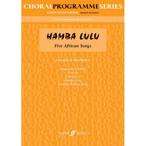 FABER MUSIC BREWER MIKE - HAMBA LULU - UPPER VOICES