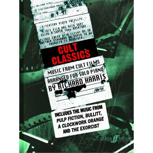 FABER MUSIC HARRIS RICHARD - CULT CLASSICS - PIANO