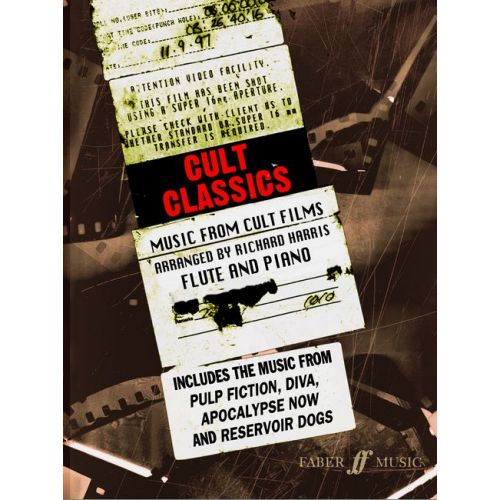 FABER MUSIC HARRIS RICHARD - CULT CLASSICS - FLUTE AND PIANO