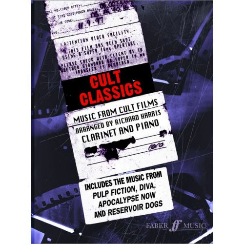 FABER MUSIC HARRIS RICHARD - CULT CLASSICS - CLARINET AND PIANO