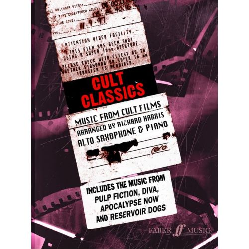 FABER MUSIC HARRIS RICHARD - CULT CLASSICS - SAXOPHONE AND PIANO