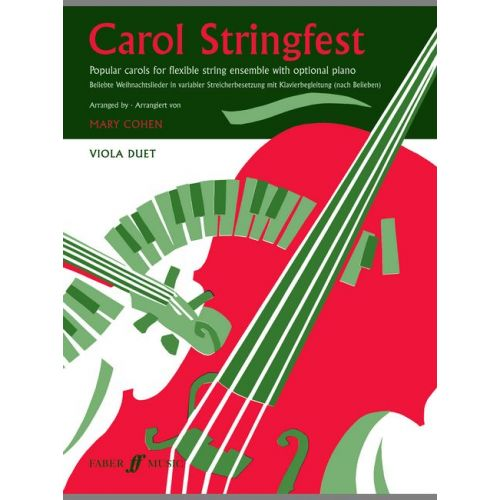 FABER MUSIC COHEN MARY - CAROL STRINGFEST - VIOLA DUET PART