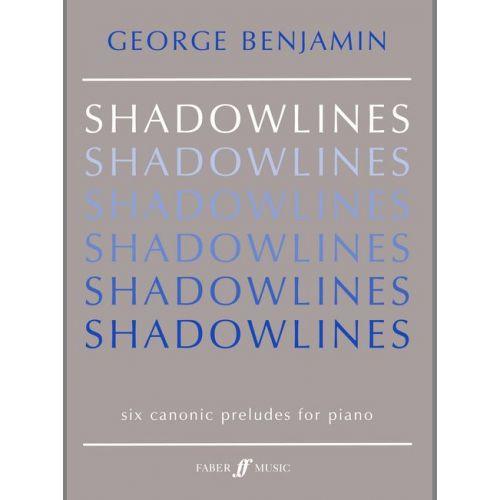 FABER MUSIC BENJAMIN GEORGE - SHADOWLINES - PIANO SOLO