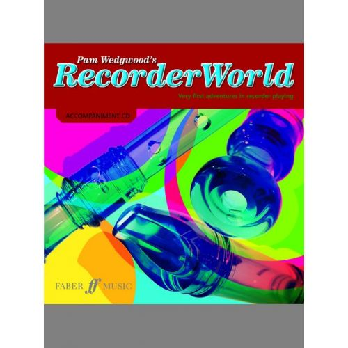 FABER MUSIC WEDGWOOD PAM - RECORDERWORLD + CD - RECORDER