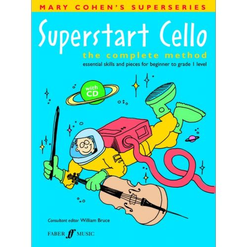 FABER MUSIC COHEN M / BRUCE W - SUPERSTART CELLO + CD - CELLO