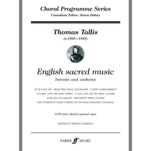 FABER MUSIC TALLIS THOMAS - ENGLISH SACRED MUSIC - SATB CHOIR (PER 10 MINIMUM)