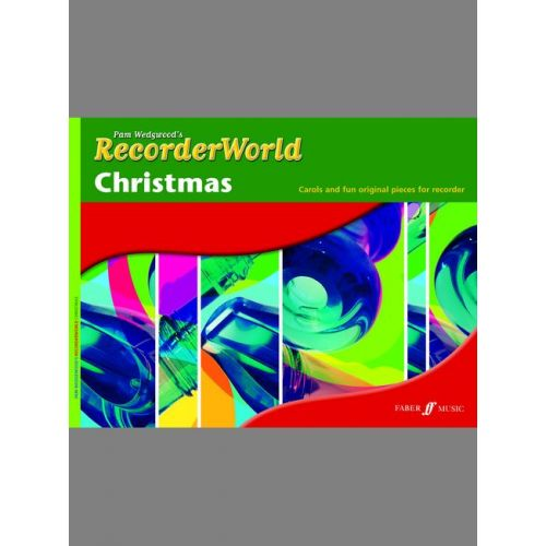 FABER MUSIC WEDGWOOD PAM - RECORDERWORLD CHRISTMAS - RECORDER