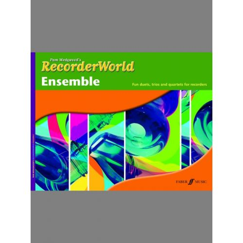 FABER MUSIC WEDGWOOD PAM - RECORDERWORLD ENSEMBLE - RECORDER