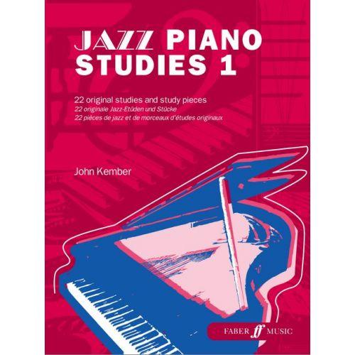 FABER MUSIC KEMBER JOHN - JAZZ PIANO STUDIES 1 - PIANO