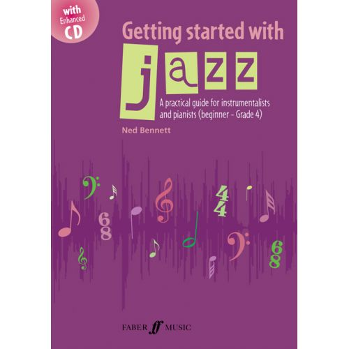 FABER MUSIC BENNETT NED - GETTING STARTED WITH JAZZ + CD