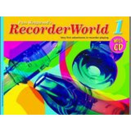 FABER MUSIC WEDGWOOD PAM - RECORDERWORLD 1 + CD - RECORDER