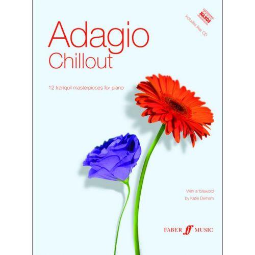 FABER MUSIC ADAGIO CHILLOUT + CD - PIANO SOLO
