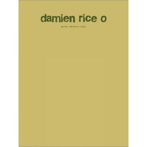 FABER MUSIC RICE DAMIEN - O - GUITARE TAB