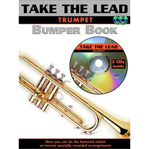 FABER MUSIC BUMPER TAKE THE LEAD + CD - TRUMPET AND PIANO