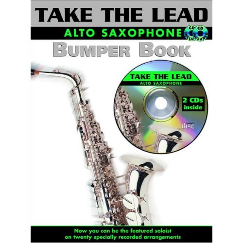 FABER MUSIC BUMPER TAKE THE LEAD + CD - SAXOPHONE AND PIANO