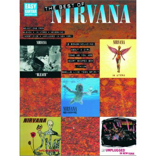 HAL LEONARD NIRVANA - THE BEST OF - EASY GUITAR TAB
