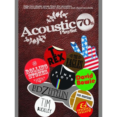 FABER MUSIC ACOUSTIC PLAYLIST 70'S - CHORD SONGBOOK