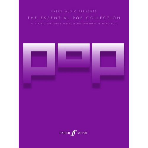 FABER MUSIC HARRIS RICHARD - ESSENTIAL POP COLLECTION, THE - PIANO