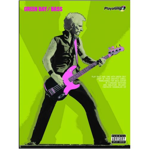 FABER MUSIC GREEN DAY - AUTHENTIC BASS PLAYALONG + CD - BASS