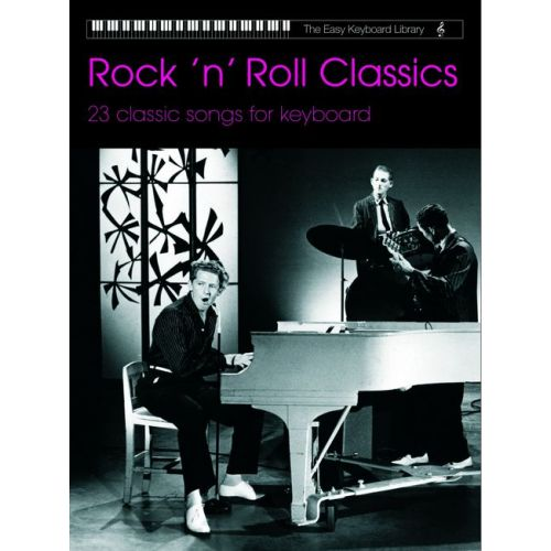 FABER MUSIC ROCK'N'ROLL CLASSICS (EASY KEYBOARD LIB) - ELECTRONIC KEYBOARD