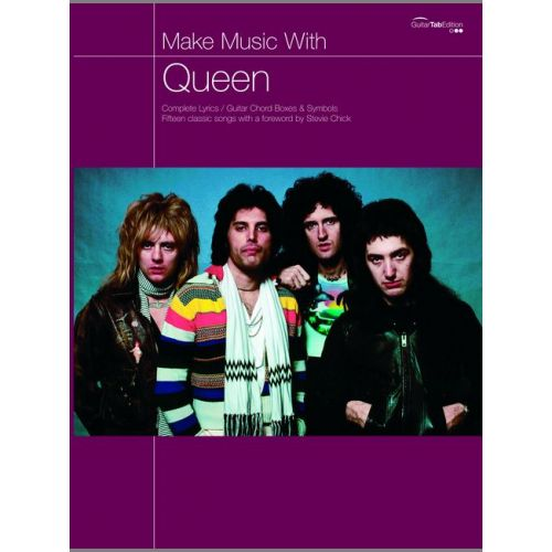 FABER MUSIC QUEEN - QUEEN, MAKE MUSIC WITH - GUITAR TAB