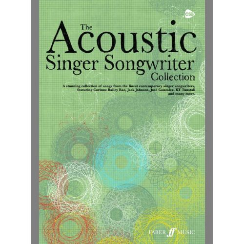 FABER MUSIC ACOUSTIC SINGER SONGWRITER COLLECTION - CHORD SONGBOOKS