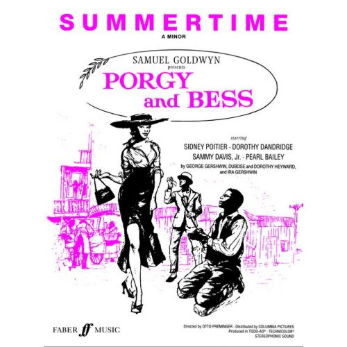 FABER MUSIC GERSHWIN GEORGE - SUMMERTIME (A MINOR) - PVG