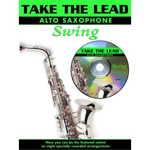 FABER MUSIC TAKE THE LEAD SWING + CD - SAXOPHONE AND PIANO
