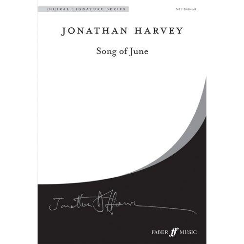 FABER MUSIC HARVEY JONATHAN - SONG OF JUNE - SATB (PAR 10 MINIMUM)