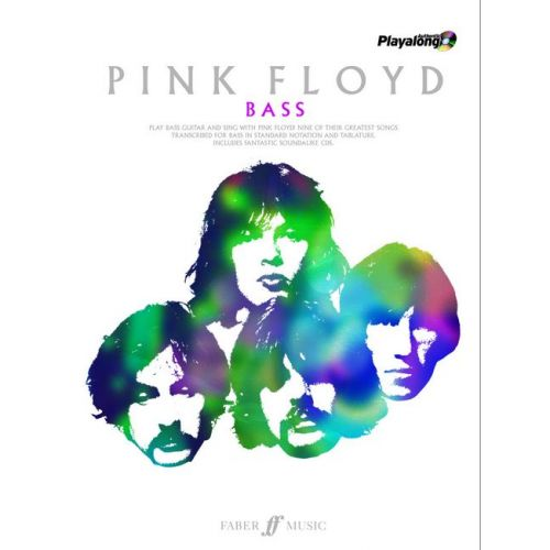 FABER MUSIC PINK FLOYD - AUTHENTIC BASS PLAYALONG + 2CDS - BASS
