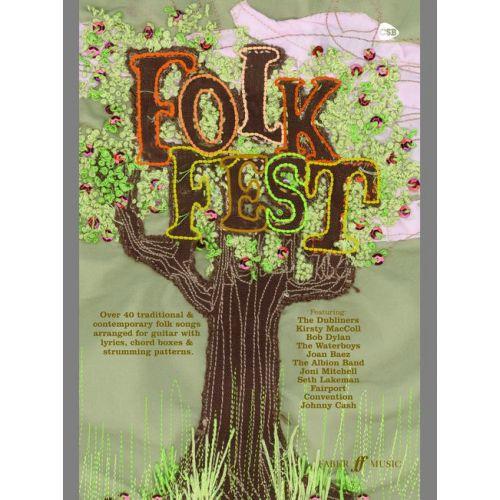 FABER MUSIC FOLK FEST - CHORD SONGBOOKS