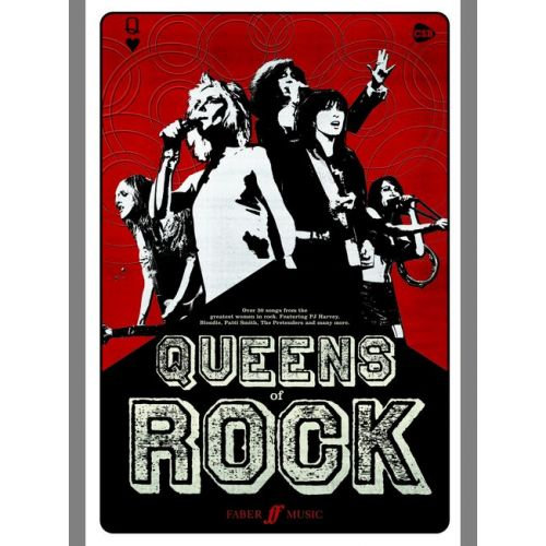 FABER MUSIC QUEENS OF ROCK - CHORD SONGBOOKS
