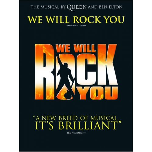 FABER MUSIC QUEEN - WE WILL ROCK YOU (VOCAL SELECTIONS) - SHOWS/FILM/TV