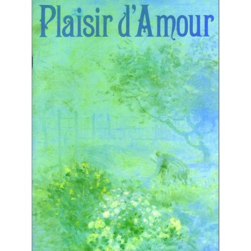 FABER MUSIC PLAISIR D'AMOUR - VOICE AND PIANO
