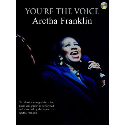 FABER MUSIC FRANKLIN ARETHA - YOU'RE THE VOICE + CD - PVG