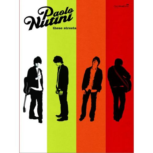 FABER MUSIC NUTINI PAOLO - THESE STREETS - PVG