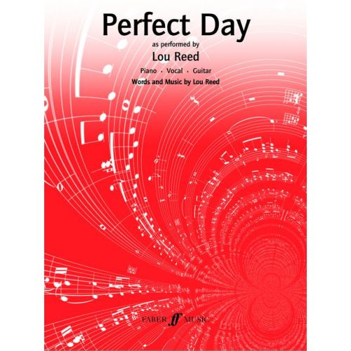 FABER MUSIC REED LOU - PERFECT DAY - PVG