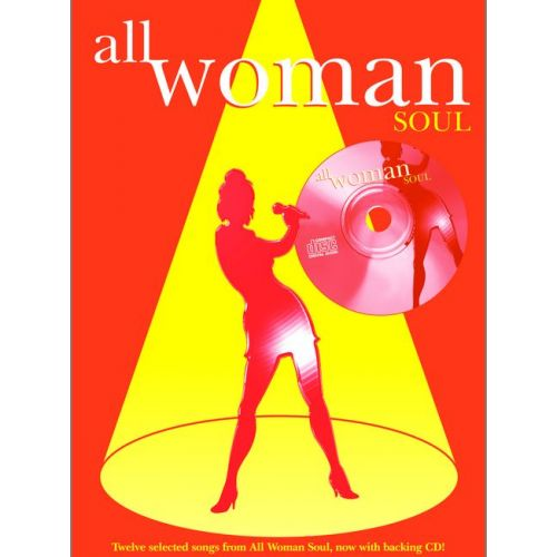 FABER MUSIC ALL WOMAN - SOUL + CD - PVG