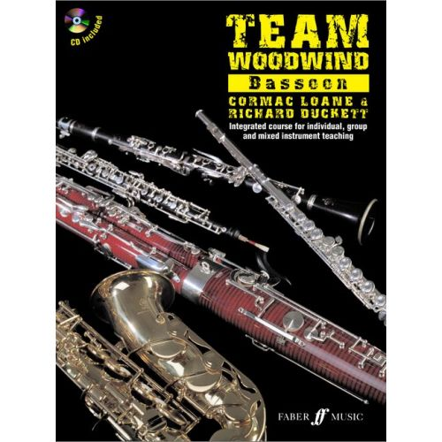 FABER MUSIC DUCKETT R / LOANE C - TEAM WOODWIND + CD - BASSOON